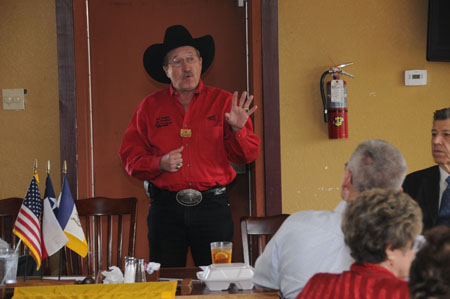Richard T Hudgins talks about the origin and growth of the Houston Livestock Show and Rodeo and its many contributions to young Texans and the community