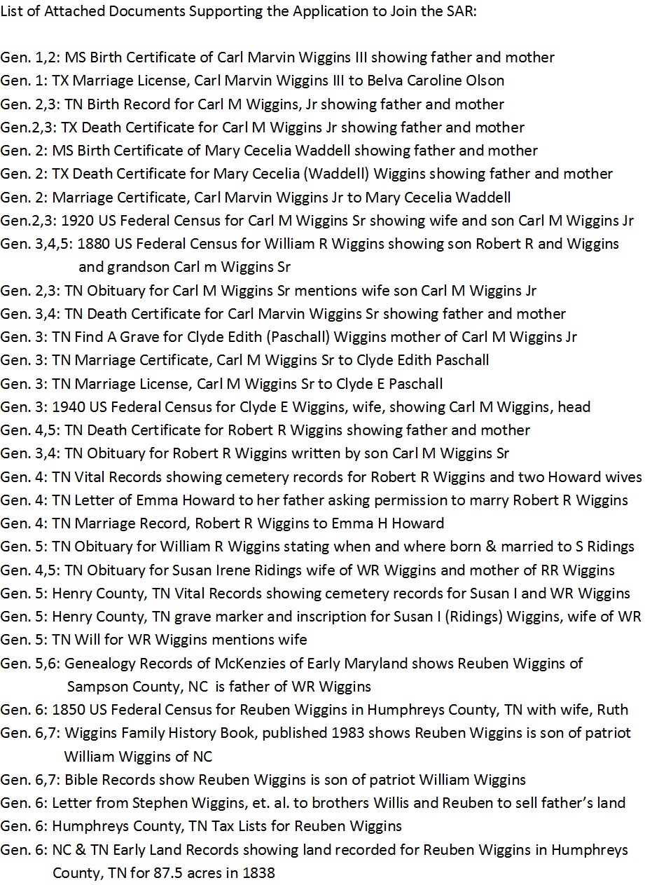 Genealogy cradle of texas chapter 33 sons of the american figure 17 page 2 of a sar application aiddatafo Choice Image