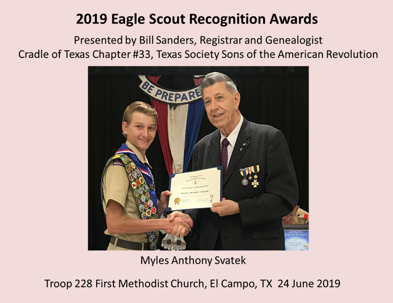 Eagle Scout Awards 2